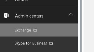 Office365 Exchange Link
